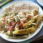Garlic Tilapia and Zucchini Fries